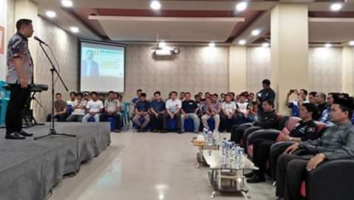 Rusdi Masse Sosialisasi  Di Kabupaten Pinrang