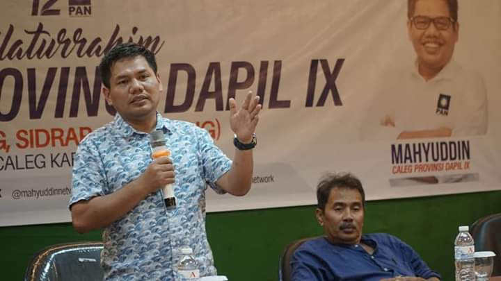 Mahyuddin, Caleg PAN untuk DPRD Sulsel Dapil lX Nomor Urut 5