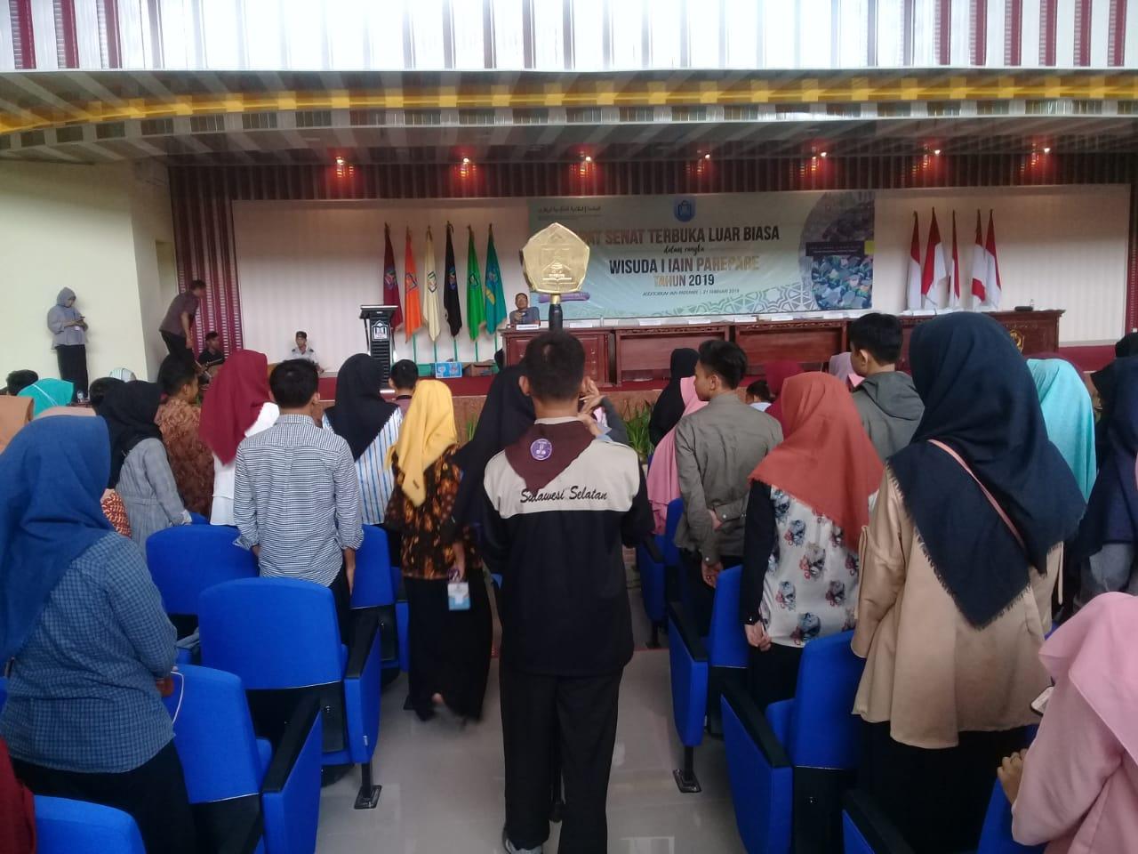 Dirjen Pendis Dijadwalkan Orasi Ilmiah, di Auditorium IAIN Parepare