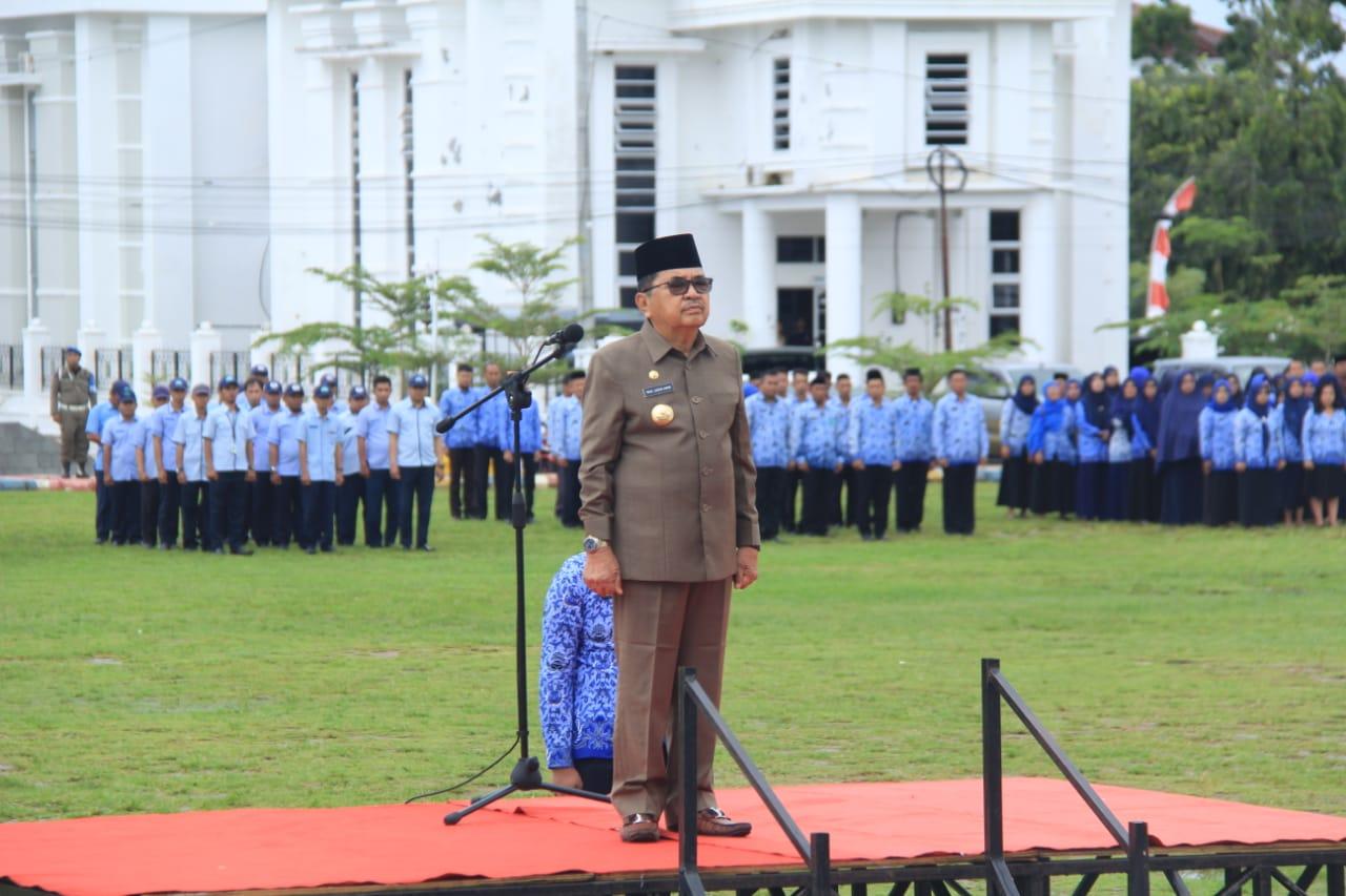 Walikota Palopo Pimpin Upacara Hari Otonomi Daerah Nasional ke 23