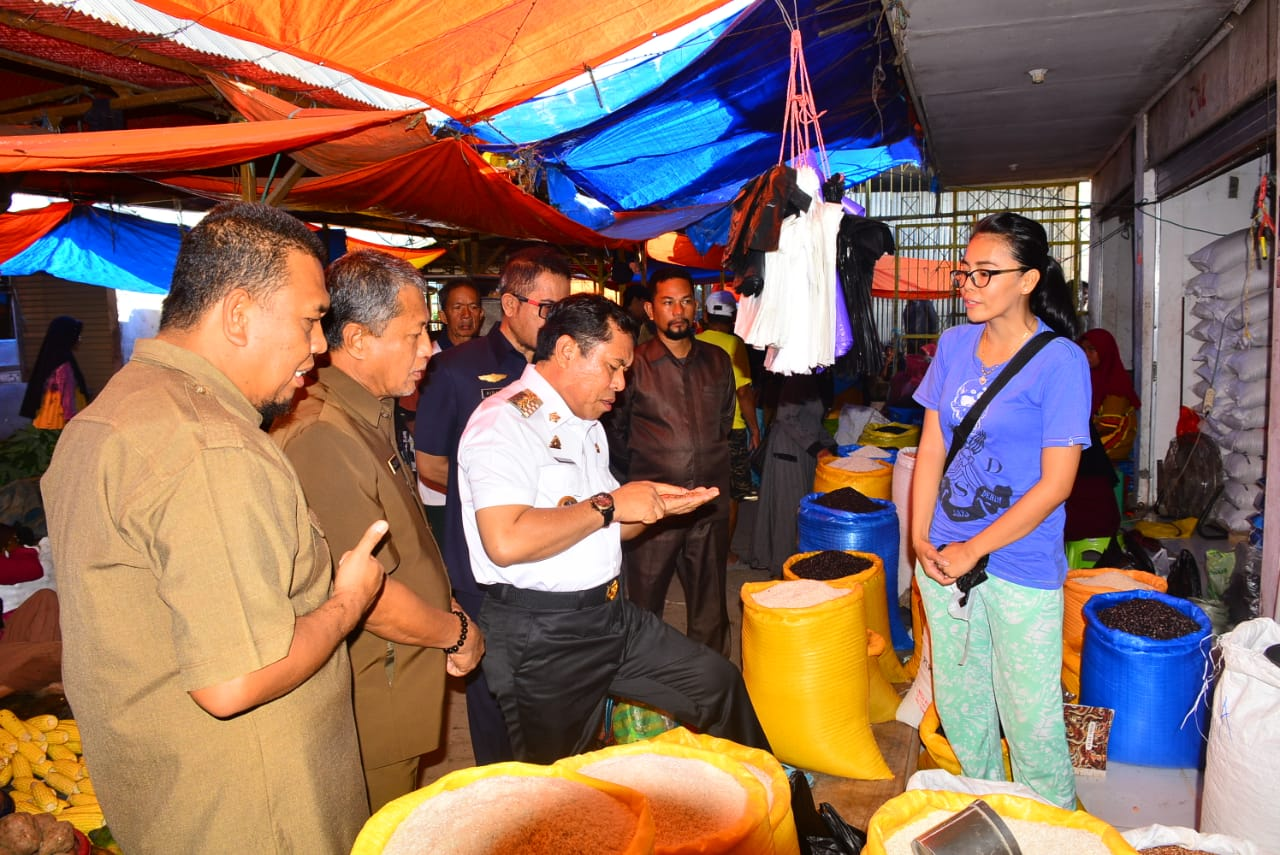 Harga Kebutuhan Pokok di Pasar Rappang, Masih Relatif Stabil. Kata Wabup Sidrap