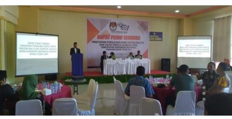 KPU Sidrap Tetapkan 35 Wakil Rakyat. Kapolres Ucapkan Terima Kasih…