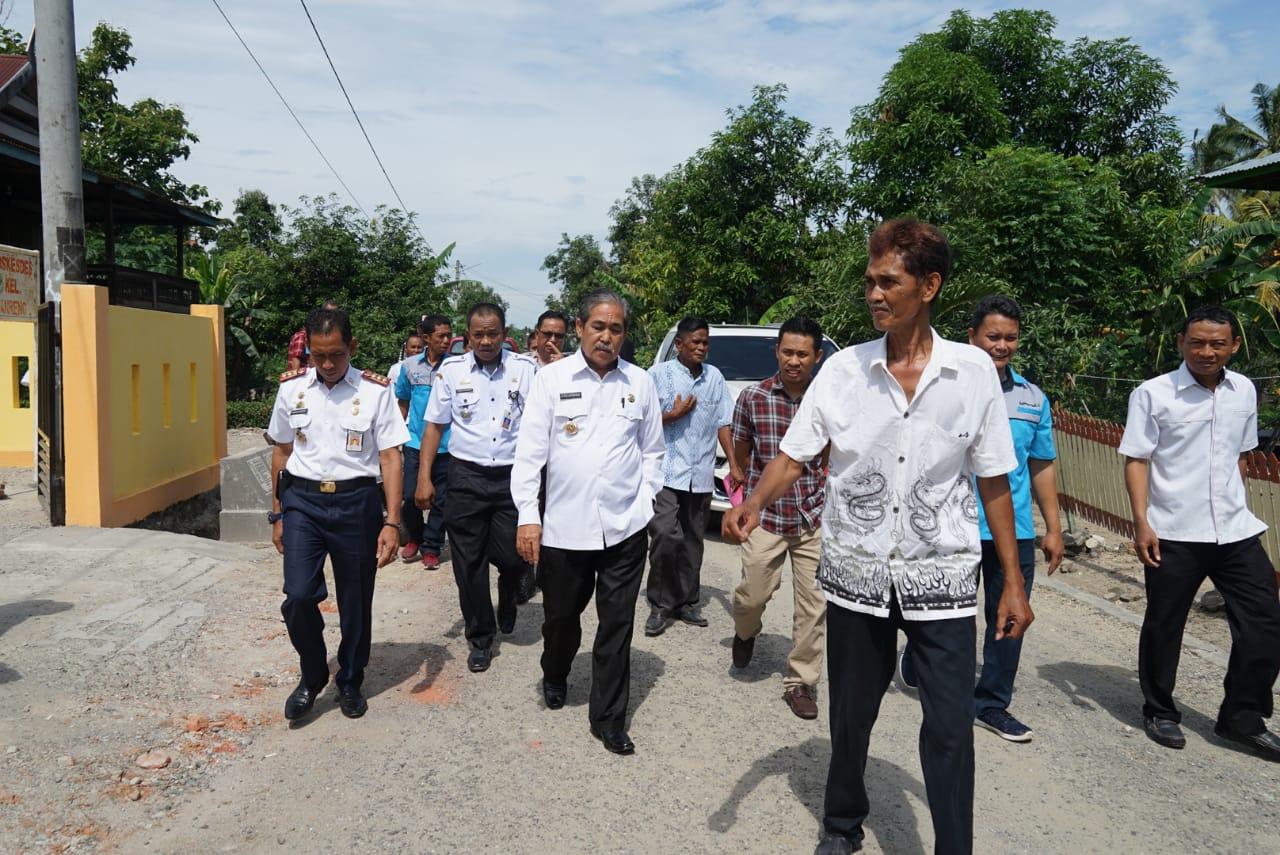 Bupati Sidrap Saksikan Ujicoba Fungsi Pamsimas di Panreng