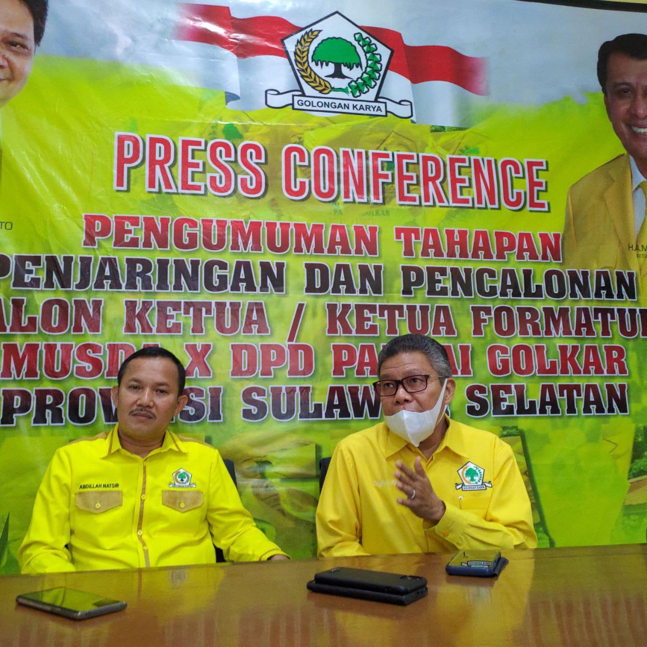 Taufan Pawe, Semakin Diperhitungkan Pada Bursa Balon Ketua Golkar SulSel. Begini Konsepnya…