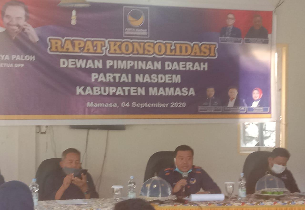 DPD Partai NasDem Kabupaten Mamasa Gelar Konsolidasi