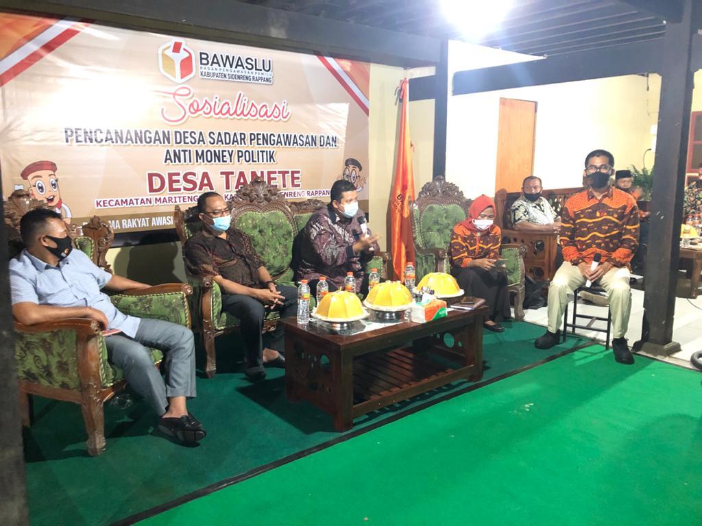 Ketua DKPP RI Hadir di Acara Sosialisasi yang Digelar Bawaslu Sidrap, Ini Tujuannya