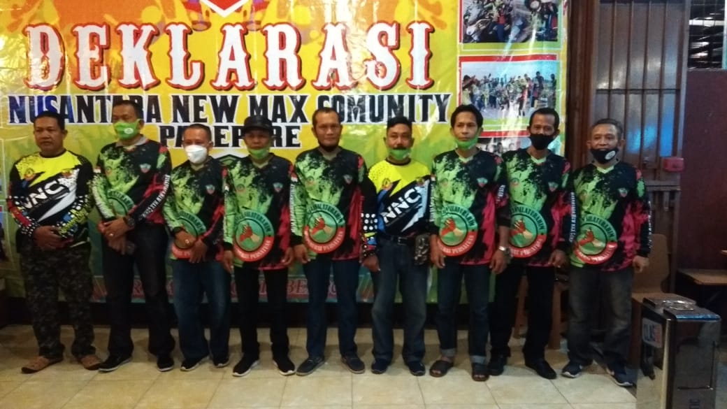 Komunitas Nusantara New Max Community Dideklarasikan di Rara Coffee Parepare, Ini Tujuannya