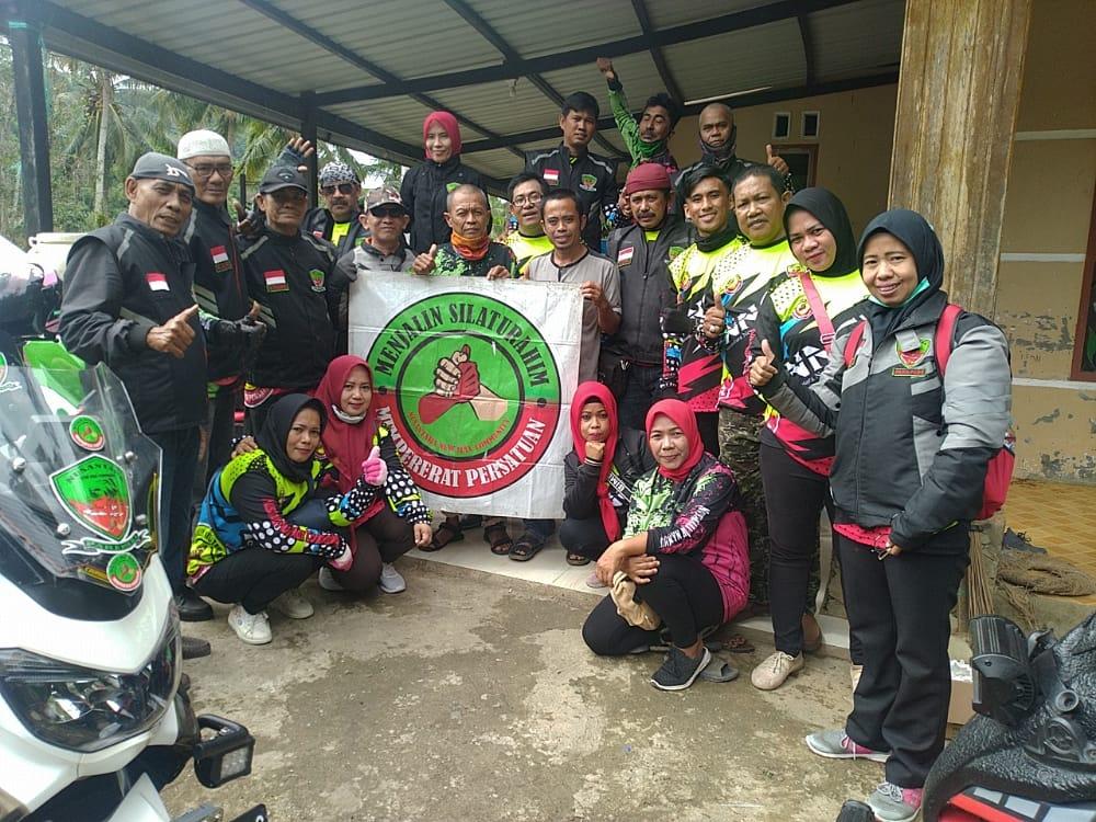 Sambil Touring, Member NNC Parepare Jajaki Bisnis Kopi di Desa Kurrak Polman